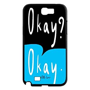 E-Shop Diy Samsung Galaxy Note 2 N7100 Phone Case Okay Okay Pattern Hard Case IG464549