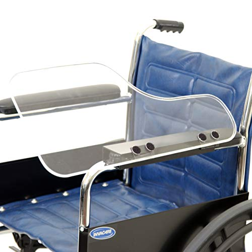 The Aftermarket Group Wheelchair Half Lap Tray, Clear Acrylic, Flip-Up Hardware, Left, TAG010037 from The Aftermarket Group