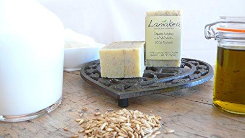 Albireo - Jabón natural hecho a mano (130 g), fabricación francesa, saponificación en frío: Amazon.es: Belleza
