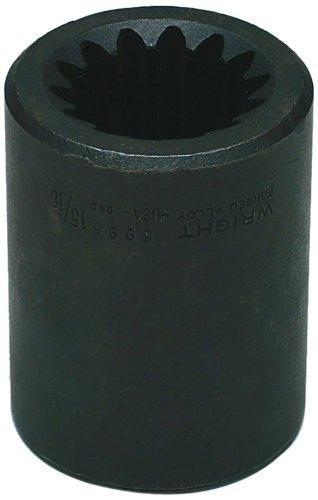 - Wright Tool 5995 5 Spline Drive Square Impact Socket