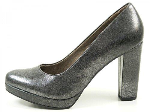 alto 27 Negro 1 22435 negro para de zapatos Tamaris mujer tacón wZTEYEq