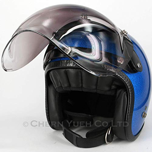 06539e66 Chern Yueh Adapter Flip Up Base Attachment 3-Snap Helmet Bubble Shield  Visor Mask (
