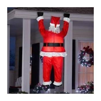 Amazon Com Gemmy Airblown Inflatable Realistic Santa