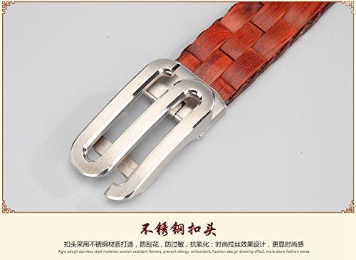 Menschwear Mens & Womens Adjustable Palisander Wooden Belt Handmade 120CM by Menschwear (Image #3)