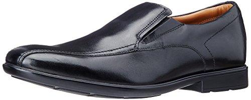 Clarks Gosworth Step - Zapatillas de casa de Cuero Hombre Negro (Black Leather)