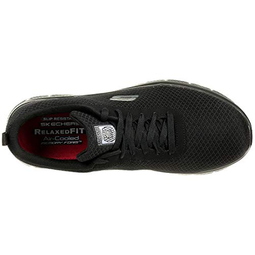 Blk Sport Noir 77125 Skechers Mémoire Mousse Hommes Chaussures 6wxCv5zq
