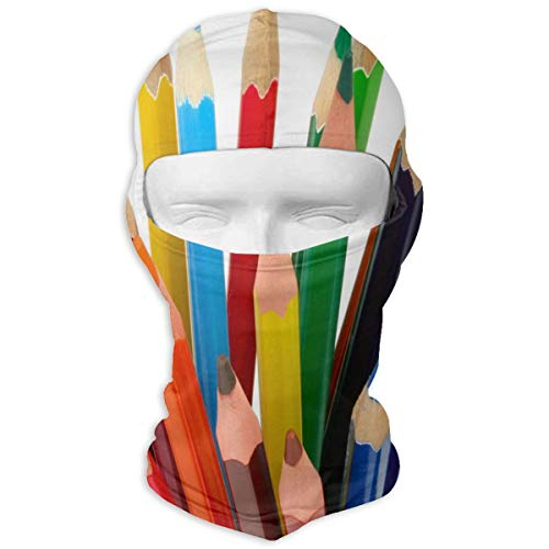 Balaclava Single Colored Pencil Full Face Masks Ski Sports Cap Motorcycle Hood for Cycling Sports Snowboard