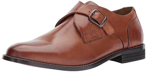 Nunn Bush Men's Sabre Monk Strap Slip-on Loafer, Cognac, 8 W US -