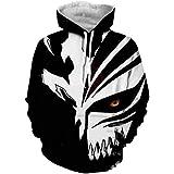 Anime BLEACH 3d Digital Print Sweater Hooded Hoodie