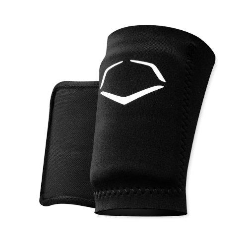EvoShield Protective Baseball Wrist Guard,Black,Small