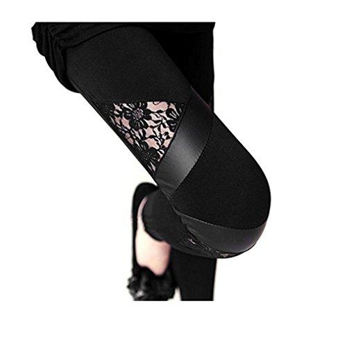 作る投げる性交NIANPU PANTS レディース カラー: ブラック