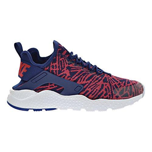 150e8372bf9d Galleon - Nike Womens Air Huarache Run Ultra Blue   Red   White