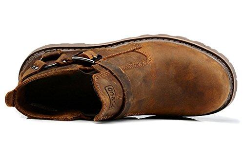 TDA - Stivali Combat uomo Brown