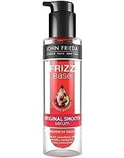 John Frieda Frizz-Ease Hair Serum Original Formula, Anti-Frizz Heat Protecting Spray, Infused with Silk Protein, 50ml