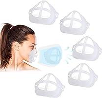 5 Stück 3D-Silikon-Halterung für Masken, Stützrahmen, Silikon-Maskenhalterung, Innenkissen für Masken, Nasenpolster für...