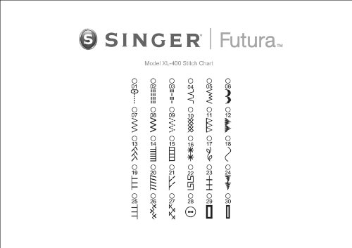 037431882943 - SINGER Futura XL-400 Sewing and Embroidery Machine carousel main 6
