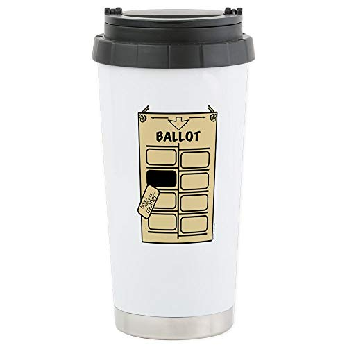 CafePress HIMYM Hanging Chad Stainless Steel Travel Mug Stainless Steel Travel Mug, Insulated 16 oz. Coffee Tumbler ()