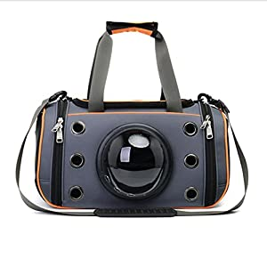 YD Pet Travel Carrier Transparent Cat Bag Space Capsule Folding Bag Pet Backpack Pet Outing Package Outgoing Portable… Click on image for further info.