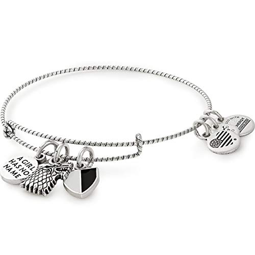 Women Of Game Of Thrones (Alex and Ani Women's Game of Thrones, Arya Stark Charm Bangle Rafaelian Silver One)