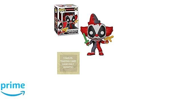 Funko Pop  Marvel Playtime Deadpool Clown 322 31120 In Stock