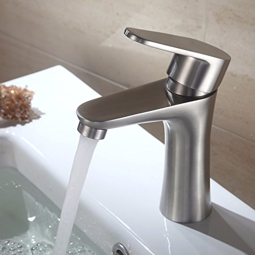 AWXJX Sink Taps Wash your face stainless steel Hot and cold bathroom ceramics Single holeSit