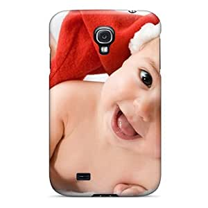 New Snap-on NikRun Skin Case Cover Compatible With Galaxy S4- Cute Christmas Baby