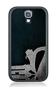 Case Skull Ghost Art Cover for Samsung Note2 SK14 Border Rubber Silicone Case Black@pattayamart