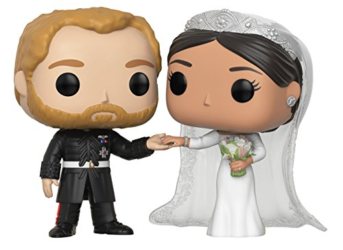 Funko Pop Royals: Prince Harry and Meghan Markle Collectible Figure, Multicolor by Funko