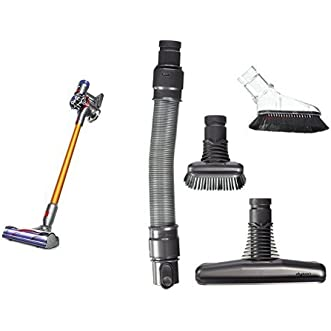 Dyson V8 Absolute Cord-Free and Dyson Genuine Handheld Tool Kit Bundle