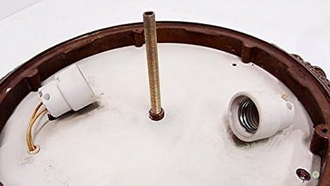 Plafoniere Smart : Deckenlampe plafoniere jugendstil cm messing bronze kristall