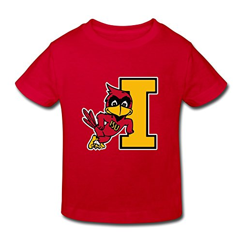 Ferdinand Chairs Best - TBTJ NCAA ISU Iowa State Cyclones Clones T Shirt For Children 2-6 Years Old Red 4 Toddler