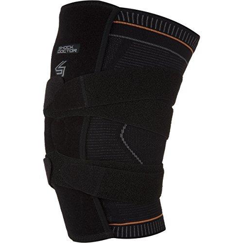 Shock Doctor 超圧縮ニット 膝サポート 膝蓋骨 ジェルサポート エクストラ Shock Doctor B013XRTRF0