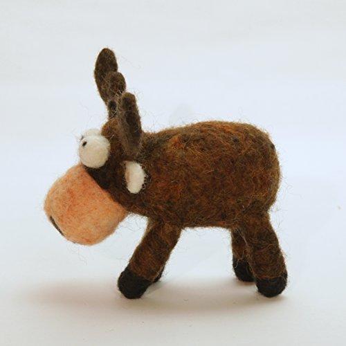 Woolbuddy Needle Felting Moose Kit by Woolbuddy (Image #2)