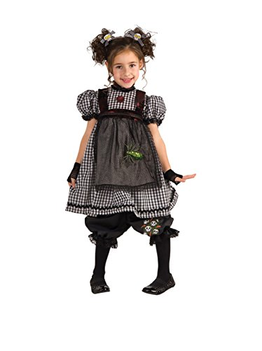 Rubie's Costume Co Gothic Rag Doll Costume, Toddler -