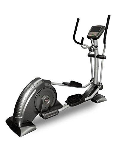 Bicicleta eliptica ALTA CALIDAD, control de pulsaciones, 8 programas profesionales, 16 grados de