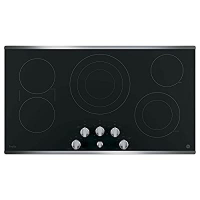 "GE Profile PP7036SJSS 36"" Stainless Steel Electric Cooktop"