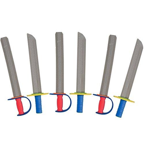 Tigerdoe Foam Swords For Kids – Toy Swords – Ninja Swords – Prince Swords Party Favor – Toy Weapons Swords