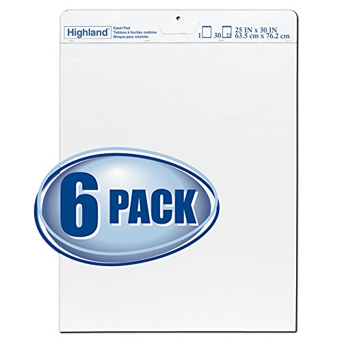 * HIGHLAND EASEL PAD PACK OF 6 by MotivationUSA