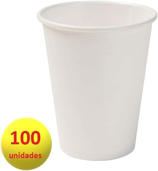 Bionatic Spain Vaso cartón para café con Leche 200ml, ecológico ...