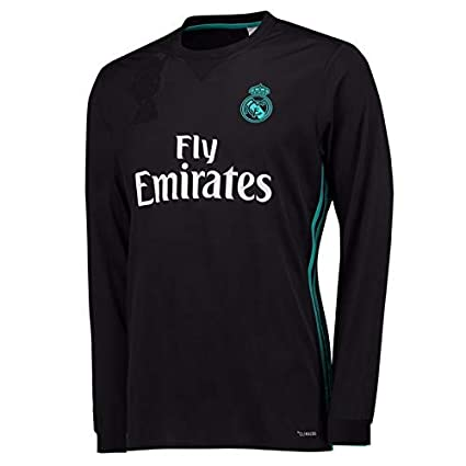 official photos 9f146 51979 Buy Real Madrid Away Long Sleeves Jersey with Shorts 2017-18 ...