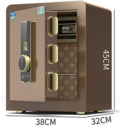 左ドア家庭用金庫、目に見えない耐火性盗難防止指紋金庫、ワードローブスチールホテルパスワードボックス