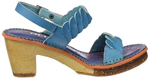 ART 1050 Mojave Amsterdam, Sandalias con Tira de Tobillo para Mujer Azul (Albufera)