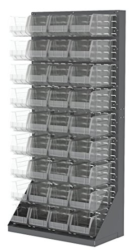 (Akro- Mils Clear Louvered Floor Rack Packages, 35-3/4