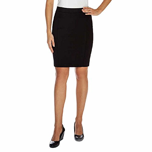 Black Knit Skirt (Mario Serrani Ladies' Bodymagic Knit Skirt Black S)