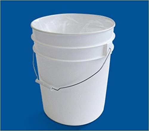 Allinliner 5 or 6 Gallon Bucket Plastic Liner 3 Pack 19l X 21.5w