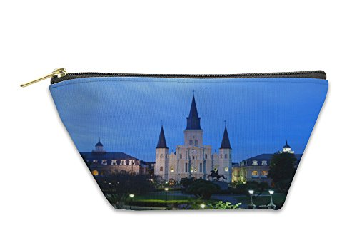 Louis St Coin (Gear New Accessory Zipper Pouch, St Louis Cathedral, Small, 5624560GN)