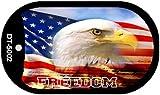 Freedom American Eagle Metal Novelty Dog Tag Necklace DT-5002