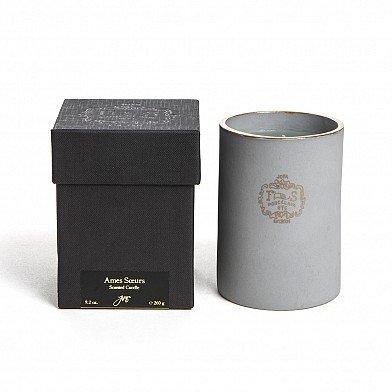 Joya Ames Soeurs 22k Gold Rim Porcelain Candle (Soy + Vegetable + Beeswax Blend Candle) ()