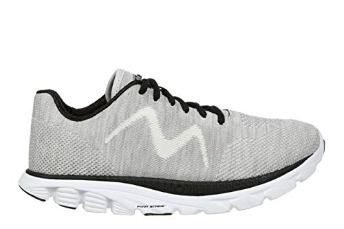 MBT USA Inc Women's Speed Mix Gardenia White/Black Lightweight Running Sneakers 702032-1264M Size - Mix Speed