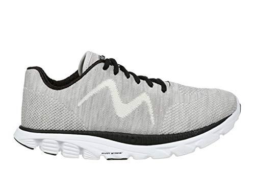 MBT USA Inc Women's Speed Mix Gardenia White/Black Lightweight Running Sneakers 702032-1264M Size - Speed Mix